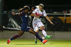 May 18, 2018 - Saint Germain En Laye, France - Onema Grace Geyoro (PSG ) vs Ada Hegerberg  (Credit Image: © Panoramic via ZUMA Press)