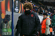 Marouane Fellaini Midfielder of Manchester United during the Europa League match between Zorya Luhansk and Manchester United at Chornomorets Stadium, Shevchenko Park, Ukraine on 8 December 2016. Photo by Phil Duncan.