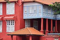 Malaisie, état de Malacca, Malacca, Centre historique, patrimoine Mondial de l'Unesco, le Stadthuys // Malaysia, Malacca state, Malacca, Unesco Wold Heritage, the Stadthuys museum