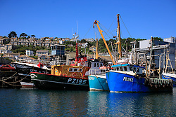 UK ENGLAND CORNWALL NEWLYN 11JUN08 - Fishing boats in Newlyn harbour, southwestern Cornwall, England...jre/Photo by Jiri Rezac / WWF UK..© Jiri Rezac 2008..Contact: +44 (0) 7050 110 417.Mobile:  +44 (0) 7801 337 683.Office:  +44 (0) 20 8968 9635..Email:   jiri@jirirezac.com.Web:    www.jirirezac.com..© All images Jiri Rezac 2008 - All rights reserved.
