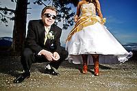 Rodney Dingman's prom photos.