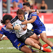 Fiji Bati defeated Toa Samoa 20-18 in an international rugby league test at Apia Park, Apia, Samoa.  Photo by Barry Markowitz, 10/8/16