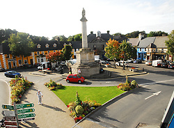 A view of the Octagon, Westport Co Mayo..Late Summer in Westport..Photograph by Conor McKeown.