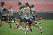 BEIJING, CHINA - JULY 31: (CHINA OUT)<br /> <br /> Paris Saint-Germain Training Session In Beijing<br /> <br /> Players of Paris Saint-Germain attend a training session ahead of the French Super Cup football match against Guingamp at the Workers Stadium on July 31, 2014 in Beijing, China.<br /> ©Exclusivepix