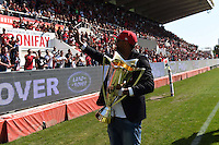 Presentation du Trophee aux Supporters / Delon Armitage - 09.05.2015 - Toulon / Castres  - 24eme journee de Top 14 <br />