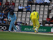 Usman Khawaja is stumpled by Jos Buttler during the ICC Cricket World Cup 2019 warm up match between England and Australia at the Ageas Bowl, Southampton, United Kingdom on 25 May 2019.