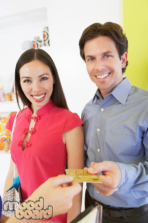 Couple Making a Purchase