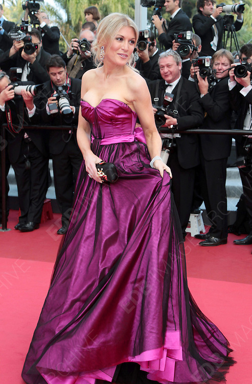 12.MAY.2011. CANNES<br /> <br /> HOFIT GOLAN ARRIVING ON THE RED CARPET FOR THE SLEEPING BEAUTY PREMIERE AT THE 64TH CANNES INTERNATIONAL FILM FESTIVAL 2011 IN CANNES, FRANCE.<br /> <br /> BYLINE: EDBIMAGEARCHIVE.COM<br /> <br /> *THIS IMAGE IS STRICTLY FOR UK NEWSPAPERS AND MAGAZINES ONLY*<br /> *FOR WORLD WIDE SALES AND WEB USE PLEASE CONTACT EDBIMAGEARCHIVE - 0208 954 5968*