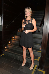KELLIE SHIRLEY at the West End opening night of 'Great Britain' a  play by Richard Bean held at The Theatre Royal, Haymarket, London followed by a post show party at Mint Leaf, Suffolk Place, London on 26th September 2014.