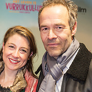 NLD/Amsterdam/20180122 - Filmpremiere Het leven is vurrukkulluk, Joram Lursen en .......