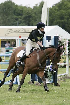 Houghton International Horse Trials.22-05-2009.Open Eventer's Grand Prix.677 Mel Wilder on Minuteman.