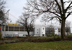 A general view of the outside of Deepdale, home of Preston North End, from a local park - Mandatory by-line: Robbie Stephenson/JMP - 06/03/2018 - FOOTBALL - Deepdale - Preston, England - Preston North End v Bristol City - Sky Bet Championship