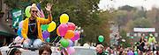 Ohio University Homecoming Parade on Court Street on October 12, 2013.