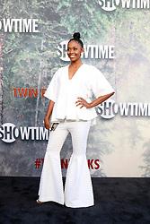 May 19, 2017 - Los Angeles, CA, USA - LOS ANGELES - MAY 19:  Nafessa Williams at the ''Twin Peaks'' Premiere Screening at The Theater at Ace Hotel on May 19, 2017 in Los Angeles, CA (Credit Image: © Kay Blake via ZUMA Wire)