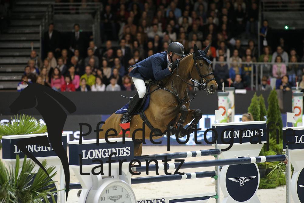 Nieberg, Lars, Leonie W<br /> Lyon - Weltcup Finale<br /> Finale III<br /> © www.sportfotos-lafrentz.de/Stefan Lafrentz