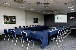 Hindlip Suite room set up - Mandatory by-line: Robbie Stephenson/JMP - 16/06/2020 - RUGBY - Sixways Stadium - Worcester, England - Sixways Stadium Room Shots