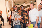 NAOMI CAMPBELL; SEAN COMBS; Opening of Miami Art Basel 2011, Miami Beach. 30 November 2011.