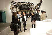 Ron Arad; Restless. Cocktail reception hosted by Kate Bush of the Barbican and Tony Chambers of Wallpaper magazine. Barbican art Gallery. London. 17 September 2010
