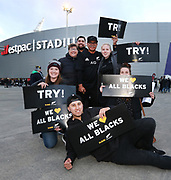 Fans during the Investec Rugby Championship match. All Blacks v South Africa. Westpac Stadium, Wellington, New Zealand. Saturday 15th September 2018. © Copyright Photo: Grant Down / www.photosport.nz