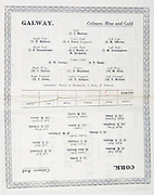 All Ireland Senior Hurling Championship Final,.09.09.1928, 09.09.1928, 9th September 1928,.9091928AISHCF,.Cork 6-12, Galway 1-0,.Senior Cork v Galway,.Croke Park, ..Cork Senior Team, J. Burke, Goalkeeper, M. Madden, Right corner-back, Sean Murphy, Captain, Full-back,  E. O'Connell, Left corner-back, D. B. Murphy, Right half-back, J. O'Regan, Centre half-back, T. Barry, Left corner-back, J. Hurley, Midfielder, M. O'Connor, Midfielder, E. Coughlan, Right half-forward, P. Ahern, Centre half-forward, G. O'Grady, Left half-forward, P. Delea, Right corner-forward, M. Leahy, Centre full-forward, M. Ahern, Left corner-forward,..Galway Senior Team, J. Mahony, Goalkeeper, E. McGann, Right corner-back, J. Power, Captain, Full-back, M. Derivan, Left corner-back, S. Shaughnessy, Right half-back, J. Morris, Centre half-back, M. Broderick, Centre half-back, M. Cunningham, Left half-back, W. Curran, Midfielder, T. Keely, Midfielder, J. Harvey, Right half-forward, D. Morrissey, Centre half-forward, M. King, Left half-forward,  P. Green, Right corner-forward,  P. Gilligan, Centre full-forward, T. Mullins, Left corner-forward, Substitutes, T. Fury, P. Neland, J. Morris, M. Broderick, ..
