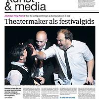 Parool 10 september 2013: Amsterdam Fringe Festival