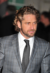 © Licensed to London News Pictures. 05/12/2012. London, England. Gerard Butler attends the  a special VIP screening of Coriolanus at the curzon cinema Mayfair London  Photo credit : ALAN ROXBOROUGH/LNP