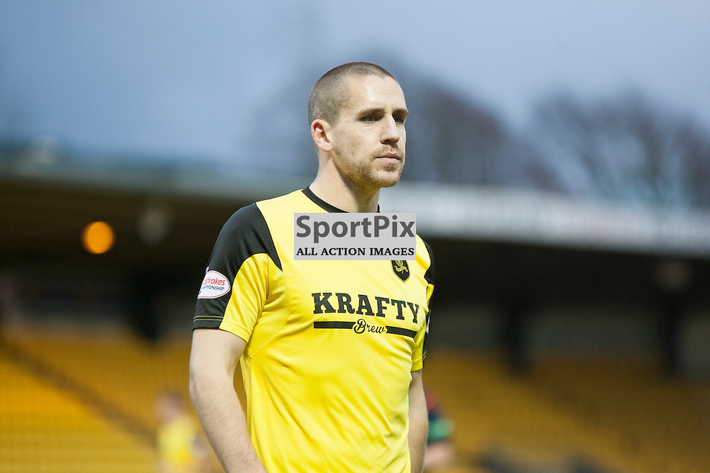 Livingston v Queen of the South, Scottish Championship, 2 January 2016, Gary Glen (Livingston, 31) during the Livingston v Queen of the South Scottish Championship match played at the Toni Macaroni Arena, © Chris Johnston | SportPix.org.uk