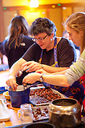 Turba cookie baking weekend.  ( Photo © Mike Roemer/ Mike Roemer Photography Inc.)