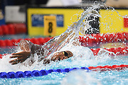 Alexandre Derache, Jordan Pothain, Roman Fuchs and Jonathan Atsu for France compete on Men's 4X200 m Relay during the Swimming European Championships Glasgow 2018, at Tollcross International Swimming Centre, in Glasgow, Great Britain, Day 4, on August 5, 2018 - Photo Stephane Kempinaire / KMSP / ProSportsImages / DPPI