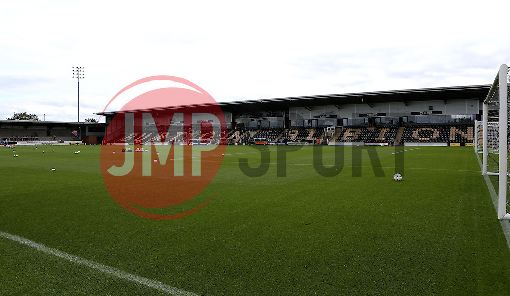 Burton Albion's home ground, The Pirelli Stadium - Mandatory by-line: Robbie Stephenson/JMP - 13/08/2016 - FOOTBALL - Pirelli Stadium - Burton upon Trent, England - Burton Albion v Bristol City - Sky Bet Championship