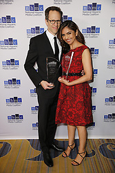 BEVERLY HILLS, CA - FEBRUARY 24: Silivia Olivas and Craig Gerber attend The National Hispanic Media Coalition's 20th Annual Impact Awards Gala at the Beverly Wilshire Four Seasons Hotel on February 24, 2017. Byline, credit, TV usage, web usage or linkback must read SILVEXPHOTO.COM. Failure to byline correctly will incur double the agreed fee. Tel: +1 714 504 6870.