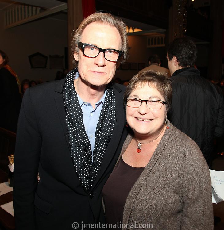 Bill Nighy and Pauline Etkin