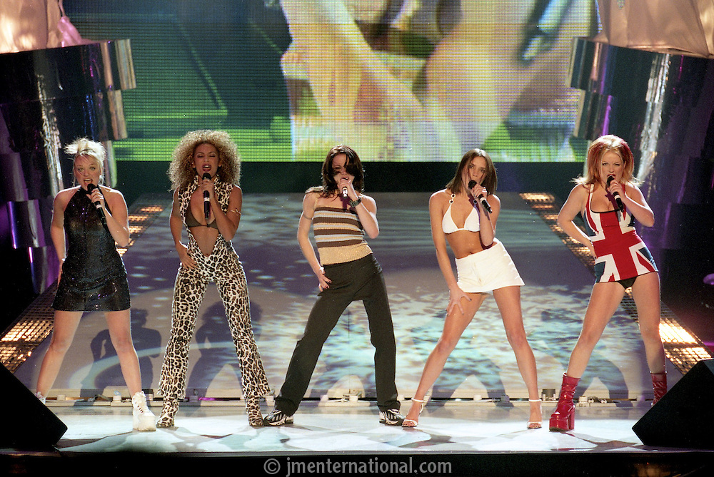 The BRIT Awards 1997 at Earls Court, London..Monday, Feb.24, 1997 (John Marshall JME)