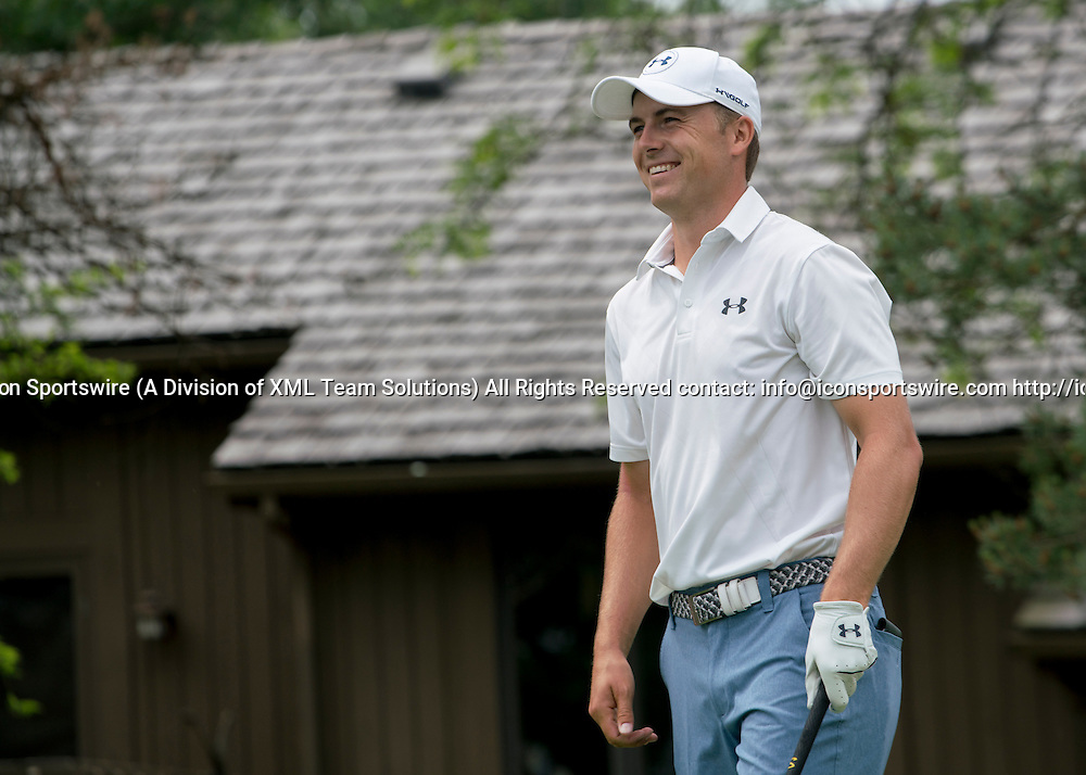 June 04 2016:  Dublin, OH, USA:  Jordan Spieth during the Third Round of the Memorial Tournament presented by Nationwide at the Muirfield Village Golf Club. (Photo by Jason Mowry/Icon Sportwire)