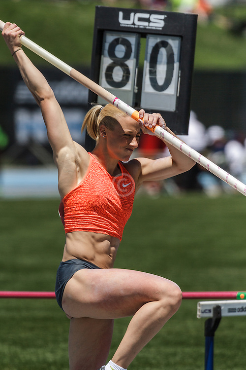 Women's Pole Vault, Nikoleta Kiriakopoulou, Greece, adidas Grand Prix Diamond League Track & Field: