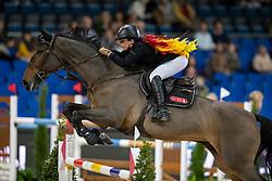 Goldstein Danielle, ISR, Celebrity VDL<br /> Stuttgart - German Masters 2018<br /> © Hippo Foto - Stefan Lafrentz