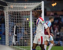 Wilfried Zaha of Crystal Palace celebrates scoring his sides third goal - Mandatory by-line: Jack Phillips/JMP - 02/03/2019 - FOOTBALL - Turf Moor - Burnley, England - Burnley v Crystal Palace - English Premier League