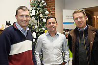 Repro FREE:  Donncha Hughes Strartuphughes, Sean Keogh CARDPARK ltd,  and Brian Slattery Whatelse at the Portershed for the Startup Business awards for Galway, IBYE 2016   Awarded by Local Enterprise Office Galway at the Portershed. <br /> Photo:Andrew Downes, xposure