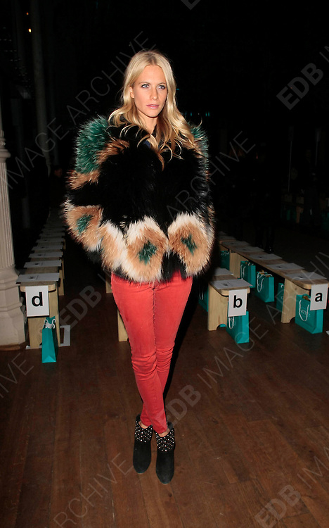 19.FEBRUARY.2012. LONDON<br /> <br /> POPPY DELEVIGNE AT THE MATTHEW WILLIAMSON FASHION SHOW AT LONDON FASHION WEEK AT THE ROYAL OPERA HOUSE IN LONDON<br /> <br /> BYLINE: EDBIMAGEARCHIVE.COM<br /> <br /> *THIS IMAGE IS STRICTLY FOR UK NEWSPAPERS AND MAGAZINES ONLY*<br /> *FOR WORLD WIDE SALES AND WEB USE PLEASE CONTACT EDBIMAGEARCHIVE - 0208 954 5968*