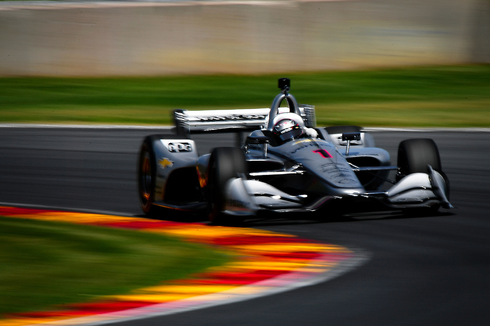 Josef Newgarden, Team Penske Chevrolet<br /> Saturday 23 June 2018<br /> KOHLER Grand Prix at Road America<br /> Verizon IndyCar Series<br /> Road America WI USA<br /> World Copyright: Scott R LePage