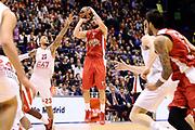 DESCRIZIONE : Milano Eurolega Euroleague 2014-15 EA7 Emporio Armani Milano Olympiacos Piraeus<br /> GIOCATORE : Vassilis Spanoulis<br /> CATEGORIA : tiro three points<br /> SQUADRA : Olympiacos Piraeus<br /> EVENTO : Eurolega Euroleague 2014-2015<br /> GARA : EA7 Emporio Armani Milano Olympiacos Piraeus<br /> DATA : 06/03/2015<br /> SPORT : Pallacanestro <br /> AUTORE : Agenzia Ciamillo-Castoria/Max.Ceretti<br /> Galleria : Eurolega Euroleague 2014-2015<br /> Fotonotizia : Milano Eurolega Euroleague 2014-15 EA7 Emporio Armani Milano Olympiacos Piraeus<br /> Predefinita :