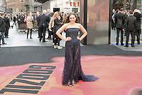 Elizabeth Olsen, Godzilla - European Film Premiere, Odeon Leicester Square, London UK, 11 may 2014, Photo by Richard Goldschmidt