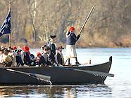 Washington Crosses Delaware River Rehearsal