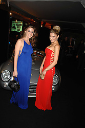 Left to right, FRANCESCA VERSACE and HOFIT GOLAN at the London Red Cross Ball themed 'Honky Tonk Blues' held at 99 Upper Ground, London SE1 on 21st November 2007.<br /><br />NON EXCLUSIVE - WORLD RIGHTS