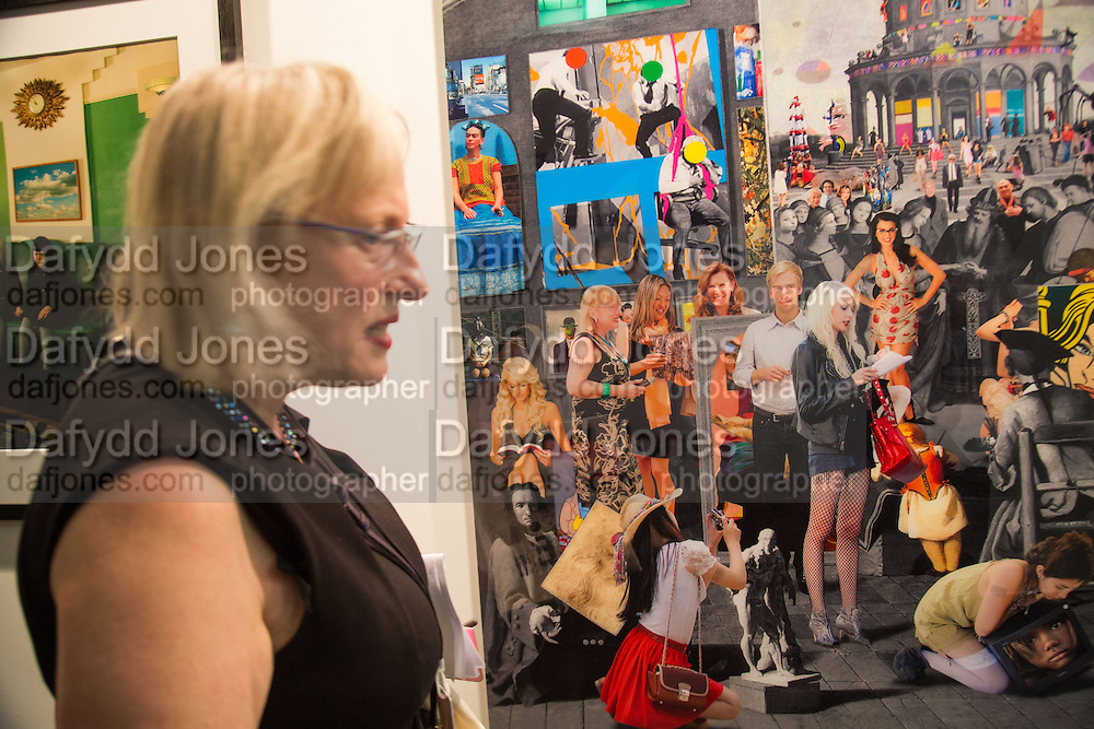 JEAN WAINWRIGHT, Preview for the London Art Fair,  Islington Business Design Centre. London. 13 January 2014