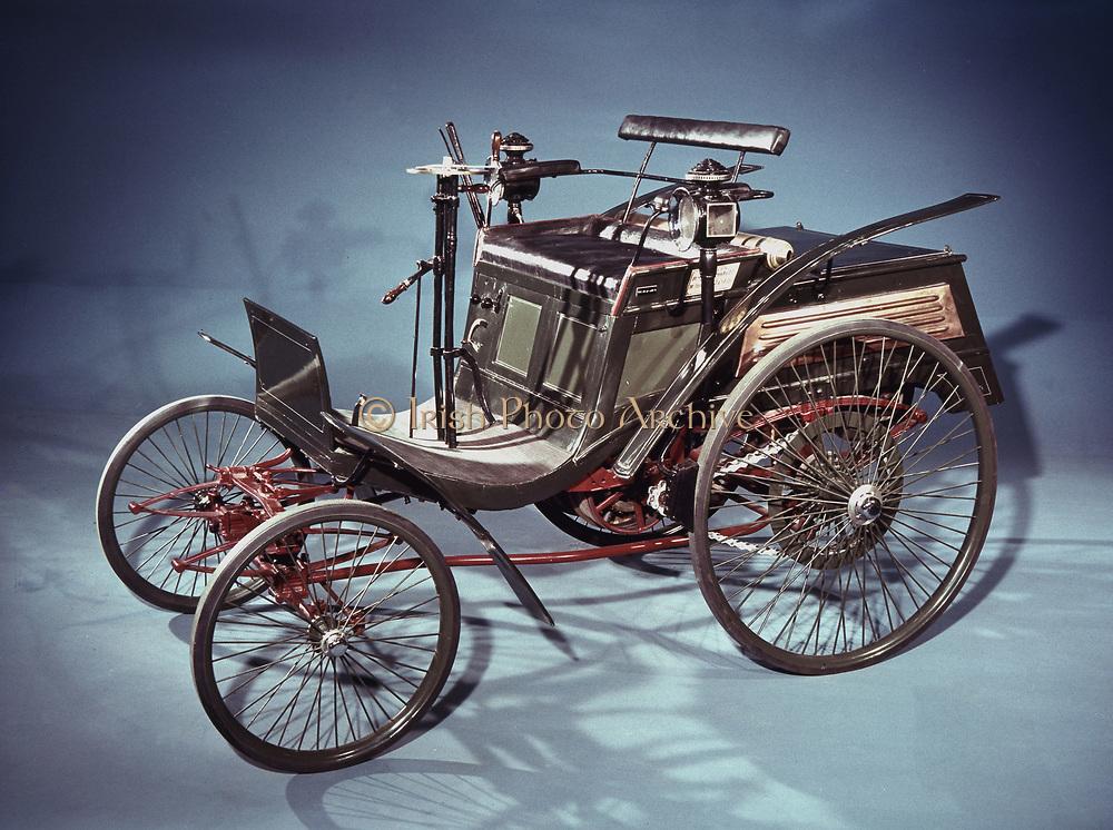 1894 rear-engined Velo Benz car. Credit Ann Ronan/Mercedes GMBH