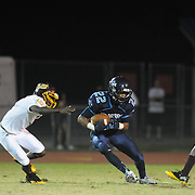 Hoggard hosted Lumberton in football Friday September 19, 2014. (Jason A. Frizzelle)