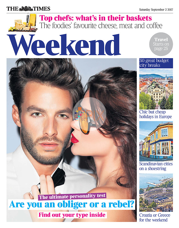 'Are you an obliger or a rebel?' Take the ultimate personality test in the Weekend section of The Times UK.<br />