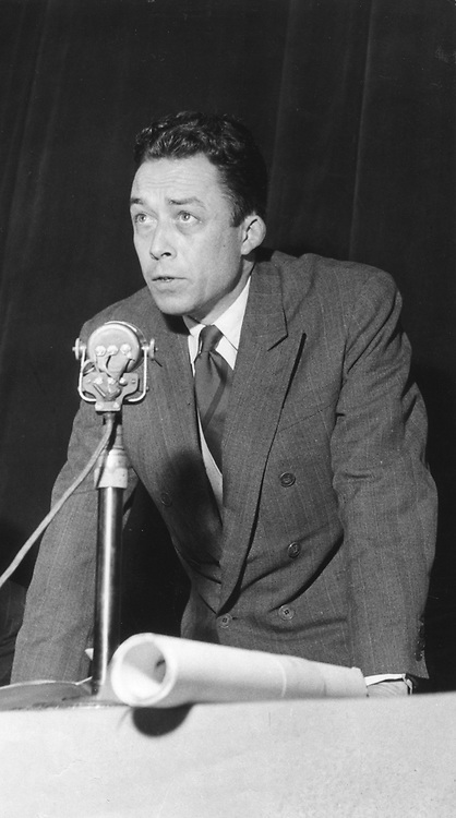 Albert Camus (1930-1960) French writer born in Algeria, in 1948. Awarded Nobel  Prize for Literature, 1957. Photograph by Daniel Walland.  COPYRIGHT TO BE CLEARED