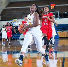 2016-17 A&T Women's Basketball vs Delaware State University